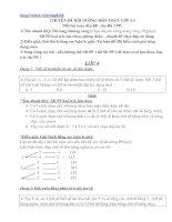 Gián án Chuyên đề bồi dưỡng Toán lớp 4-5