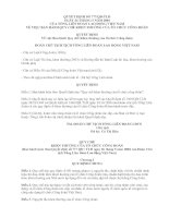 Tài liệu Quyết định 777 ban hành quy chế khen thường