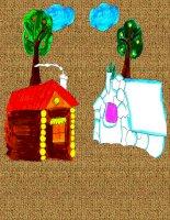 Truyện: Cáo, thỏ và gà trống