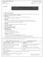 Tài liệu Thảo GA Văn 9 ( T20 -> 23)
