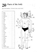 Test Your Vocabulary 1_Parts of the body