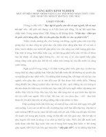 Bài soạn SKKN: BIỆN PHÁP KHẮC PHỤC HỌC SINH YẾU KÉM