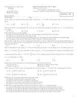 tt đề thi HKI 12 Cơ bản
