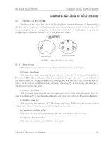 Chương 9: Các công cụ xử lý feature