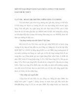 MỘT SỐ GIẢI PHÁP NÂNG CAO CHẤT LƯỢNG CVTD TẠI SỞ GIAO DỊCH I NHCT