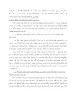 CÁC GIẢI PHÁP NHẰM NÂNG CAO HIỆU QUẢ CÔNG TÁC QUẢN LÝ VÀ SỬ DỤNG VỐN VỐN TẠI NGÂN HÀNG PHỤC VỤ NGƯỜI NGHÈO HÀ TÂY