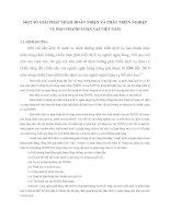 MỘT SỐ GIẢI PHÁP NHẰM HOÀN THIỆN VÀ PHÁT TRIỂN NGHIỆP VỤ BAO THANH TOÁN TẠI VIỆT NAM