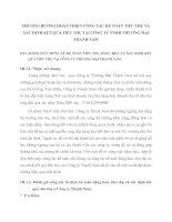 PHƯƠNG HƯỚNG HOÀN THIỆN CÔNG TÁC KẾ TOÁN TIÊU THỤ VÀ XÁC ĐỊNH KẾT QUẢ TIÊU THỤ TẠI CÔNG TY TNHH THƯƠNG MẠI THANH NAM