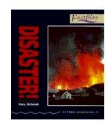 Disasters factfiles bộ sách tiếng anh dùng để học từ vựng