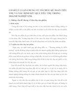 CƠ SỞ LÝ LUẬN CHUNG VỀ TỔ CHỨC KẾ TOÁN TIÊU THỤ VÀ XÁC ĐỊNH KẾT QUẢ TIÊU THỤ TRONG DOANH NGHIỆP XNK