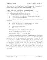 TÌNH HÌNH KINH DOANH NGHIỆP VỤ BẢO HIỂM VẬT CHẤT XE CƠ GIỚI Ở TỔNG CÔNG TY CỔ PHẦN BẢO HIỂM BƯU ĐIỆN
