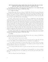 MỘT SỐ GIẢI PHÁP HOÀN THIỆN CÔNG TÁC KẾ TOÁN TIÊU THỤ VÀ XÁC ĐỊNH KẾT QUẢ TIÊU THỤ TẠI CÔNG TY TNHH PHÚ THÁI