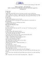 Bài soạn GIAO AN LOP 3 TUAN 13