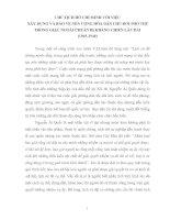 Bài soạn CHỦ TỊCH HỒ CHÍ MINH VỚI VIỆC  XÂY DỰNG VÀ BẢO VỆ NỀN CỘNG HÒA (1945-1946)