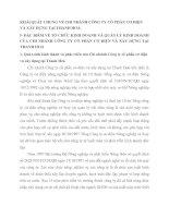 KHÁI QUÁT CHUNG VỀ CHI NHÁNH CÔNG TY CỔ PHẦN CƠ ĐIỆN VÀ XÂY DỰNG TẠI THANH HOÁ