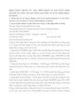 KHÁI QUÁT CHUNG VỀ  ĐẶC ĐIỂM QUẢN LÝ SẢN XUẤT KINH DOANH VÀ CÔNG TÁC KẾ TOÁN TẠI CÔNG TY XUẤT NHẬP KHẨU XI MĂNG