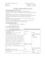 Bài soạn ngữ văn 6 tuần 20