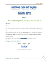 Hướng dẫn sử dụng excel 2010 part 3