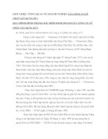 GIỚI THIỆU TỔNG QUAN VỀ DOANH NGHIỆP CỦA CÔNG TY CỔ PHẦN XÂY DỰNG SỐ 5