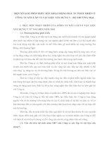 MỘT SỐ GIẢI PHÁP THÚC ĐẨY HOẠT ĐỘNG ĐẦU TƯ PHÁT TRIỂN Ở CÔNG TY XÂY LẮP VÀ VẬT LIỆU XÂY DỰNG V