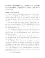 ĐẶC ĐIỂM SẢN PHẨM TỔ CHỨC SẢN XUẤT VÀ QUẢN LÝ CHI PHÍ SẢN PHẨM XÂY LẮP TẠI CÔNG TY CỔ PHẦN PHÁT TRIỂN CÔNG NGHIỆP
