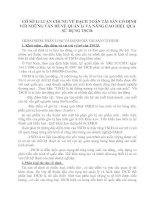 CỞ SỞ Lí LUẬN CHUNG VỀ HẠCH TOÁN TÀI SẢN CỐ ĐỊNH VỚI NHỮNG VẤN ĐỀ VỀ QUẢN Lí VÀ NÂNG CAO HIỆU QUẢ SỬ DỤNG TSCĐ