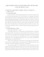 MỘT SỐ ĐIỂM CƠ BẢN CỦA NGÂN HÀNG CÔNG THƯƠNG VIỆT NAM  CHI NHÁNH CÀ MAU