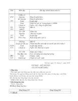Bài giảng Giáo án lớp 3 Tuần 21 CKT-KNS
