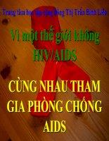TUYEN TRUYEN  HIVAIDS