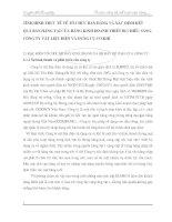 TÌNH HÌNH THỰC TẾ VỀ TỔ CHỨC BÁN HÀNG VÀ XÁC ĐỊNH KẾT QUẢ BÁN HÀNG TẠI CỬA HÀNG KINH DOANH THIẾT BỊ CHIẾU SÁNG-CÔNG TY VẬT LIỆU ĐIỆN VÀ DỤNG CỤ CƠ KHÍ