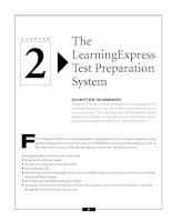 The LearningExpress Test Preparation System