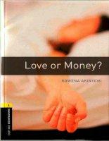 Love or money bộ sách tiếng anh dùng để học từ vựng