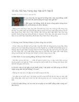 Tài liệu 15 câu hỏi hay về sinh học 8 ne!(^_^)