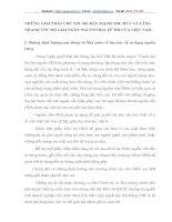 NHỮNG GIẢI PHÁP CHỦ YẾU ĐỂ ĐẨY MẠNH THU HÚT VÀ TĂNG NHANH TỐC ĐỘ GIẢI NGÂN NGUỒN ODA TỪ WB CỦA VIỆT NAM