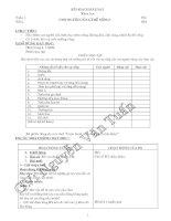 Bài soạn KHOA HOC 4-CA NAM- CKTKN