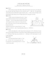 Bài luyện thi HSG Vật lý9