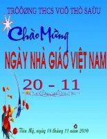 Bài soạn Tiet 12 Hoc hat Ho ba li.ppt
