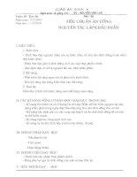 Tài liệu Bai 36. Tieu chuan an uong - nguyen tac lap khau phan