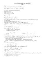 đề cương ôn tập toán  8 (HK1)