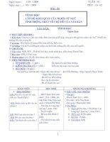giáo án ngữ văn 8 ( tập 1,2)