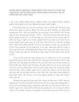 HƯỚNG HOÀN THIỆN QUY TRÌNH KIỂM TOÁN CHUNG VÀ VIỆC THU THẬP BẰNG CHỨNG KIỂM TOÁN TRONG KIỂM TOÁN BÁO CÁO TÀI CHÍNH DO AASC THỰC HIỆN