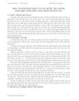 MỘT VÀI PHƯƠNG PHÁP VÀ CÁC BƯỚC TIẾN HÀNH  GIÚP HỌC SINH LỚP 4 GIẢI TOÁN CÓ LỜI VĂN