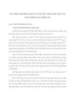 ĐẶC ĐIỂM TÌNH HÌNH CHUNG VÀ TỔ CHỨC PHÒNG KẾ TOÁN TẠI CÔNG TRÌNH GIAO THÔNG 874