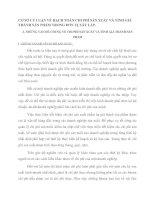 CƠ SỞ LÝ LUẬN VỀ HẠCH TOÁN CHI PHÍ SẢN XUẤT VÀ TÍNH GIÁ THÀNH SẢN PHẨM TRONG ĐƠN VỊ XÂY LẮP