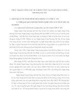 THỰC TRẠNG CÔNG TÁC HUY ĐỘNG VỐN  TẠI NGÂN HÀNG CÔNG THƯƠNG HÀ TÂY