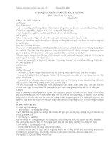 Những kiến thức cơ bản ngữ văn 9