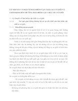 LÝ THUYẾT CƠ BẢN VỀ BẢO HIỂM VẬT CHẤT XE CƠ GIỚI VÀ GIÁM ĐỊNH BỒI THƯỜNG BẢO HIỂM VẬT CHẤT XE CƠ GIỚI