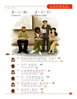 Lesson 8_Speak Mandarin in Five Hundred Words English version