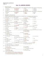 Tài liệu 12 CB UNIT 12 TEST 1