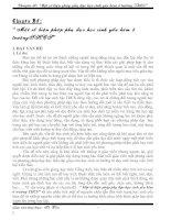 Bài giảng Chuyên đề phụ đạo HS yếu kém